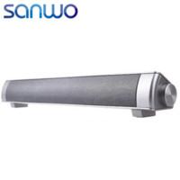 Wholesale 2016 Sound Bar Wireless Subwoofer Bluetooth Speaker W Small TV Soundbar Bluetooth Receiver Stereo Super Bass Altavoz Ducha