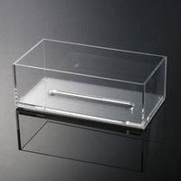 Wholesale Top quality Storage Case Special Glass Boxes New Arrival Acrylic Clear Tissue Box Transparent Cover Rectangular Holder Size cm