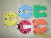 Wholesale 500Pcs Child Baby Animal Cartoon Jammers Stop Door Stopper Holder Lock Safety Guard