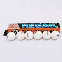 Wholesale 6 brand quality table tennis ball star mm standard training balls for Club School training Environmental New Material