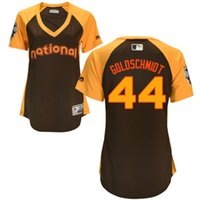 arizona national - women National League brown All Star Game Paul Goldschmid Arizona Diamondbacks Jersey size S XL