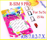 Wholesale Original R SIM9 Pro Perfect SIM Card Unlock Official IOS iphone S S SE GSM CDMA WCDMA
