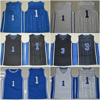 allen college - 1 Kyrie Irving Allen Duke Blue Devils College Basketball Jerseys New Style Stitched Jersey Embroidery logos Wholesalers