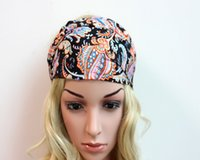 Wholesale fashion women s sports fitness hair band bohemian chiffon yoga running headband
