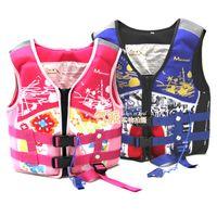 Wholesale Kids Life Jacket Vest Child Swimming Life Jacket Vest For Kayak Kids Summer Watersports Equipment