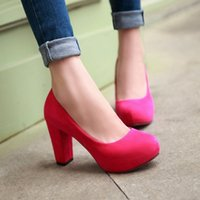 Wholesale Fashion Wedding Pumps Sexy High Heel Shoes Brand Design Red Bottom Platform Women Party Shoes Big size
