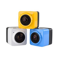 Wholesale Original CUBE360 Mini Sports Action Camera Degree Panoramic View VR Camera Build in WiFi Video with GVT100M H F2 Len