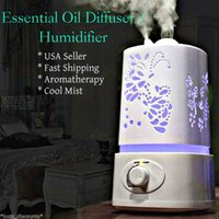 Wholesale Ultrasonic Humidifier Room Air Aroma Essential Oil Diffuser Purifier Atomizer