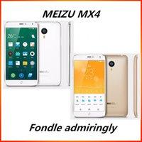 2016 Bon choix Original Meizu MX4 4G LTE Téléphone Mobile MTK6595 Octa core 5,36