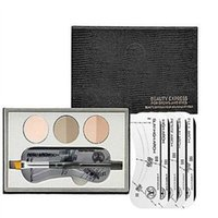 beauty express - New Arrivals Professional Eyebrow Powder Palette Eye Shadow Brush Cosmetic Makeup Tools beauty express Eyebrow Powder Colors