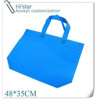 advertisement gifts bag - 48 custom gift advertisement Reusable Recycle non woven shopping bags recyle supermarket non woven bags with handles