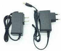 Wholesale AC V V LED Converter Adapter DC V A V A Power Supply Charger EU US Plug
