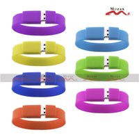 usb wristband - 50 Wristband USB Drive GB Wholesales Memory Flash Thumb Stick Pendrive