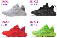 air comfort shoes - 2016 New Fashion Mens Womens Air Huarache running shoes Comfort Mesh athletic Walking training sporting shoes sneakers size