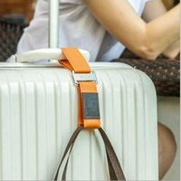 Wholesale Travel luggage clamp Portable energy suitcase hang buckle Luggage strap colors PVC box individual package