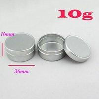 aluminium cosmetic containers - 50pcs Aluminium Balm Tins Pot Jar g g g g g g g g Empty Aluminium Cosmetic Containers Pot Lip Balm Jar Tin For Cream