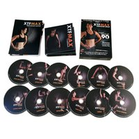 Wholesale In stock Workout DVD XTF MAX days DVDs Workout Fitness slimming factory price freeshipping