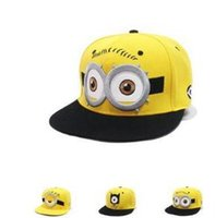 base ball hats - 2016 hats hot sale colors Boy Girl children Minions Cap Despicable Me D Hats Kids Accessories Caps Base Ball Hat high quality