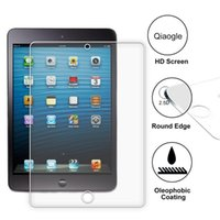 Wholesale Qiaogle Anti explosion Tempered Glass Screen Protector Ultra Hard For Apple iPad Mini inch Premium Screen Protector