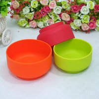 Wholesale 2016 new High Quanlity Silicone gel Anti hot bowls hot selling eco friendly non toxic new styke hot selling