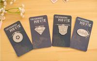 Wholesale cute creative metal bookmarks Hero alliance Bookmarks For Books Gift Creative Stationery korean papelaria