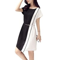 Wholesale Fashion summer dress code ol occupation comfortable short sleeve in the long skirt