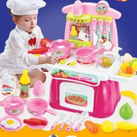 Wholesale 2016 New Arrival Children Play Toy Girl Baby Toy Large Kitchen Cooking Simulation Model without Original Box
