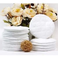 Wholesale 10Pcs Hot Galactorrhea Washable Nursing Breast Pads spill prevention breast pad For Mommy Breast Feeding