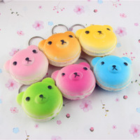bear lanyard - rare squishy rilakkuma phone charm squishies psc cm kawaii squishies Color bear bread squishies kawaii key lanyard