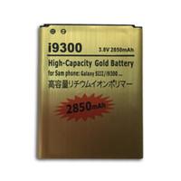 galaxy s battery - mAh High Capacity Gold Battery Batery For Samsung GALAXY S3 SIII S III I9300 i535 i747 T999 L710 I9305 I9308