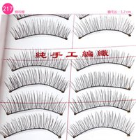 Wholesale 10 Pairs set Natural Sparse Cross Eye Lashes Extension Makeup Long Synthetic Makeup False Eyelashes