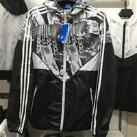 adidas tracksuit - Adidas New High Quality brand Spring Autumn Hoodie Jacket men Sportswear Clothes Windbreaker Coats sweatshirt tracksuit men s