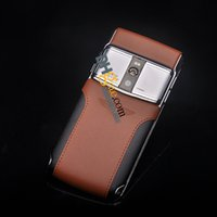 Cheap Updated Bentley Vertu Signature touch version luxury vertu phone 4G LTE Octa Brown with Black phone