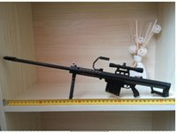 barrett rifle - Through the firing line of alloy Barrett sniper rifle M82A1 metal model gift can not be launched