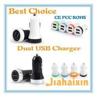 best blackberry models - Dual USB Port Car Charger Best model Universal Volt A for Apple iPhone iPad iPod Galaxy CE FCC ROHS