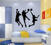 basketball quotes - 9044 N Art Wall Stickers t DIY three Basketball game Home Decorations s Living Room Quote