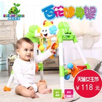 Wholesale Beautiful spring flowers to baby gym baby years old children s music baby toys early childhood fitness
