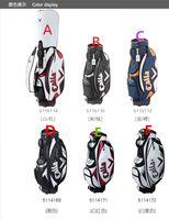 golf cart - the newest brand men golf bag pu professional golf club bag colors high quality ball bags