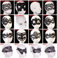 bat woman costumes - 2016 New Dancing Party Women Lace Half Mask Fancy Ball Masquerade Fox Bat Masks Girls Halloween Costume Prom Mask