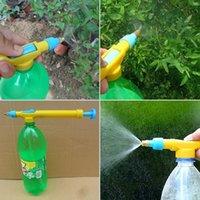 Wholesale Household Garden Durable Platic Mini Juice Bottles Interface Hand Pressure Flit style Manual Trolley Gun Sprayer Head