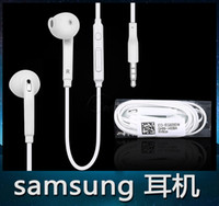 Wholesale Headphones In Ear and moving coil the noise reduction design with Mic and mm Earphone plug
