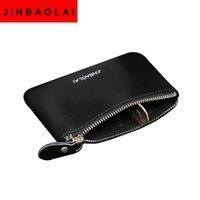 ags fashion - ags purses wallets JINBAOLAI brand women wallets genuine leather soft coin purse zipper mini bag billfold pocket wallet carteira feminina