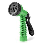 Backgrounds Plastic Garden Water Guns Adjustable 7 Pattern Garden Water Gun Hose nozzles watering hose spray gun portable multifunctional pipe sprayer pressure