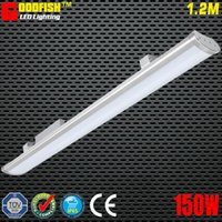 Wholesale 5FT mm W LED LOW BAY LIGHT IP65 Waterproof for Commercial Industrial Lighting led linear warehouse High Bay Light led batten lamp