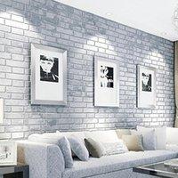 Wholesale Newest Brick Stone Pattern Vinyl Self Adhesive Wallpaper Roll Peel Stick Contact Paper