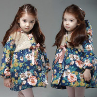 Wholesale Fashion Girl s Down jackets coats winter Russia baby Coats thick duck Warm jacket Children Outerwears jackets