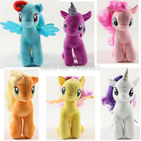baby horses for sale - 19CM Rainbow MLP little horse plush toys Cartoon Animals Baby Toy for Children Gifts Wedding Gifts toys Hot sales