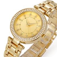 Wholesale Luxury watch President leisure stainless steel watch with diamonds Czech diamond fashion business waterproof watch alloy watch for belbi