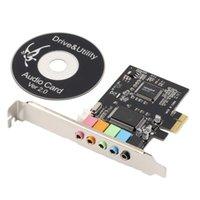 audio card pci digital - New PCI Express x1 PCI E ch CMI8738 Chipset Audio Digital Sound Card NEW