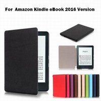 Wholesale 20pcs Newest Fashion PU leather Book Cover Shell eReader Case for Amazon Kindle eBook Version